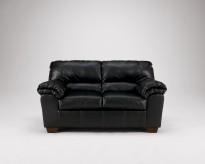 Ashley Commando Black Loveseat Available Online in Dallas Fort Worth Texas