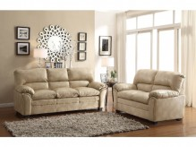 Homelegance Talon 2pc Taupe Sofa & Loveseat Set Available Online in Dallas Fort Worth Texas