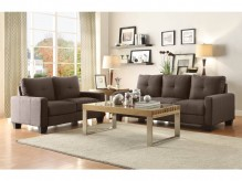 Homelegance Ramsey 2pc Grey Sofa & Loveseat Set Available Online in Dallas Fort Worth Texas
