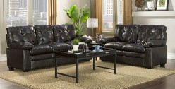 Homelegance Charley 2pc Brown Sofa & Loveseat Set Available Online in Dallas Fort Worth Texas
