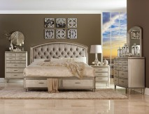 Homelegance Tandie 5pc Queen Platform Storage Bedroom Group Available Online in Dallas Fort Worth Texas