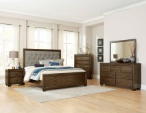 Homelegance Leavitt 5pc Queen Upholstered Bedroom Group Available Online in Dallas Fort Worth Texas
