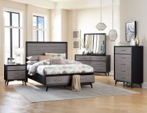 Homelegance Raku 5pc King Platform Bedroom Group Available Online in Dallas Fort Worth Texas