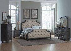 Homelegance Lindley 5pc Dusty Gray King Bedroom Group Available Online in Dallas Fort Worth Texas