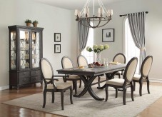 Homelegance Lindley 7pc Dusty Gray Dining Table Set Available Online in Dallas Fort Worth Texas