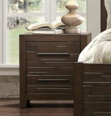 Homelegance Bowers Brown Night Stand Available Online in Dallas Fort Worth Texas