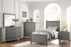 Homelegance Aviana 5pc Grey Twi... Available Online in Dallas Fort Worth Texas