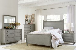 Homelegance Aviana 5pc Grey Queen Poster Bedroom Group Available Online in Dallas Fort Worth Texas