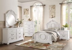 Homelegance Lucida 5pc White Tw... Available Online in Dallas Fort Worth Texas