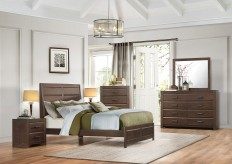 Homelegance Erwan 5pc Queen Low Profile Bedroom Group Available Online in Dallas Fort Worth Texas