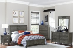 Homelegance Garcia 5pc Grey Queen Platform Bedroom Group Available Online in Dallas Fort Worth Texas