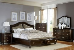 Homelegance Marston 5pc Dark Cherry Queen Bedroom Group Available Online in Dallas Fort Worth Texas