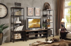 Homelegance Millwood 3pc Distressed Ash Entertainment Center Set Available Online in Dallas Fort Worth Texas