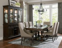 Homelegance Reid 7pc Cherry Rectangular Dining Table Set Available Online in Dallas Fort Worth Texas