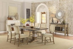 Homelegance Veltry 7pc Rectangular Dining Table Set Available Online in Dallas Fort Worth Texas