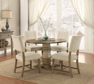 Homelegance Veltry 5pc Round Dining Table Set Available Online in Dallas Fort Worth Texas