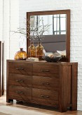 Homelegance Sedley Walnut Mirror Available Online in Dallas Fort Worth Texas