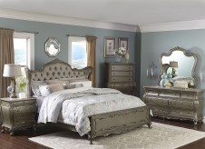 Homelegance Florentina 5pc King Wing Bedroom Group Available Online in Dallas Fort Worth Texas