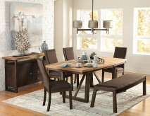 Homelegance Compson 5pc Dining Table Set Available Online in Dallas Fort Worth Texas