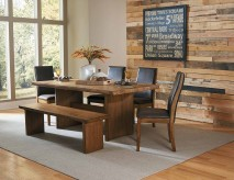 Homelegance Tod 5pc Brown Rectangular Dining Table Set Available Online in Dallas Fort Worth Texas