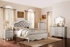 Homelegance Toulouse 5pc Champagne Queen Upholstered Bedroom Group Available Online in Dallas Fort Worth Texas