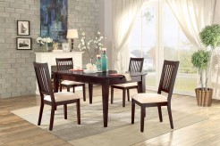 Homelegance Timber Forge 5pc Cherry Rectangular Dining Table Set Available Online in Dallas Fort Worth Texas