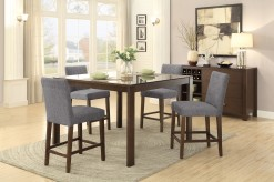 Homelegance Fielding 5pc Brown Rectangular Counter Height Dining Room Set Available Online in Dallas Fort Worth Texas
