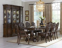 Homelegance Chilton 9pc Cherry Dining Table Set Available Online in Dallas Fort Worth Texas