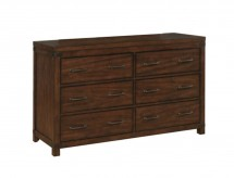 Artesia Dark Cocoa Drawer Dresser Available Online in Dallas Fort Worth Texas