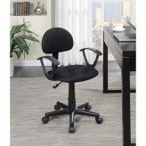 Coaster Hampton Black Swivel Office Chair Available Online in Dallas Fort Worth Texas