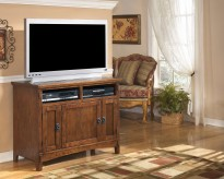 Ashley Cross Island TV Stand Available Online in Dallas Fort Worth Texas