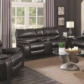 Coaster Willemse Black Loveseat Available Online in Dallas Fort Worth Texas