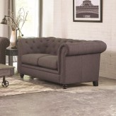 Coaster Roy Grey Loveseat Available Online in Dallas Fort Worth Texas