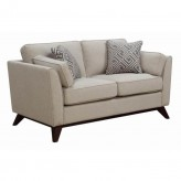 Amsterdam Neutral Loveseat Available Online in Dallas Fort Worth Texas