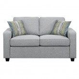 Coaster Brownswood Grey Loveseat Available Online in Dallas Fort Worth Texas