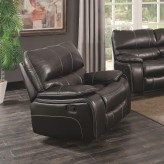 Coaster Willemse Black Glider Recliner Available Online in Dallas Fort Worth Texas
