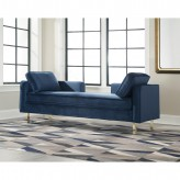 Coaster Accent Seating Navy Dou... Available Online in Dallas Fort Worth Texas
