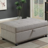 Coaster Ottomans Grey Sleeper O... Available Online in Dallas Fort Worth Texas