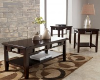 Ashley Logan 3pc Coffee Table Set Available Online in Dallas Fort Worth Texas