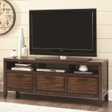 Coaster Silas Warm Brown TV Con... Available Online in Dallas Fort Worth Texas