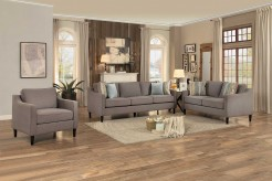 Homelegance Lotte 2pc Brown Sofa & Love Seat Set Available Online in Dallas Fort Worth Texas