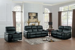 Homelegance Nicasio 2pc Black Sofa & Loveseat Set Available Online in Dallas Fort Worth Texas