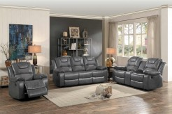 Homelegance Taye 2pc Gray Double Reclining Sofa & Love Seat Set Available Online in Dallas Fort Worth Texas