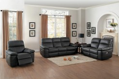 Homelegance Nicasio 2pc Dark Brown Sofa & Loveseat Set Available Online in Dallas Fort Worth Texas