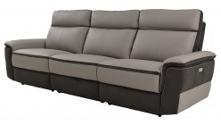 Homelegance Laertes Taupe Grey Power Double Reclining Sofa Available Online in Dallas Fort Worth Texas
