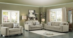 Homelegance Gowan 2pc Beige Sofa & Loveseat Set Available Online in Dallas Fort Worth Texas