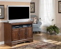 Ashley Hamlyn Dark Brown TV Stand Available Online in Dallas Fort Worth Texas