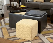 Ashley Hodan Ottoman With Storage Available Online in Dallas Fort Worth Texas
