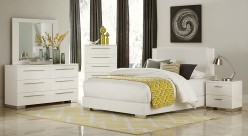 Homelegance Linnea 5pc White King Bedroom Group Available Online in Dallas Fort Worth Texas