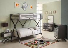 Homelegance Spaced Out 5pc Twin/Full Bunk Bedroom Group Available Online in Dallas Fort Worth Texas